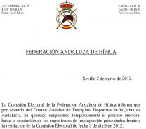 FEDERACION ANDALUZA DE HIPICA - GC Ecuestre
